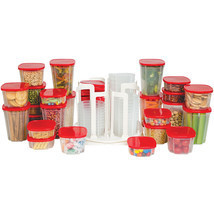 49-Piece Swirl Around Food Storage Container Or... - $21.98