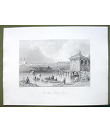 CANADA St. John's on Richlieu River - 1841 Engr... - $14.84