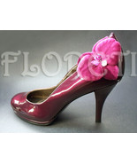 Aphrodite Couture Orchid Burgundy Bridal Shoe Accessories, 2 - $154.00