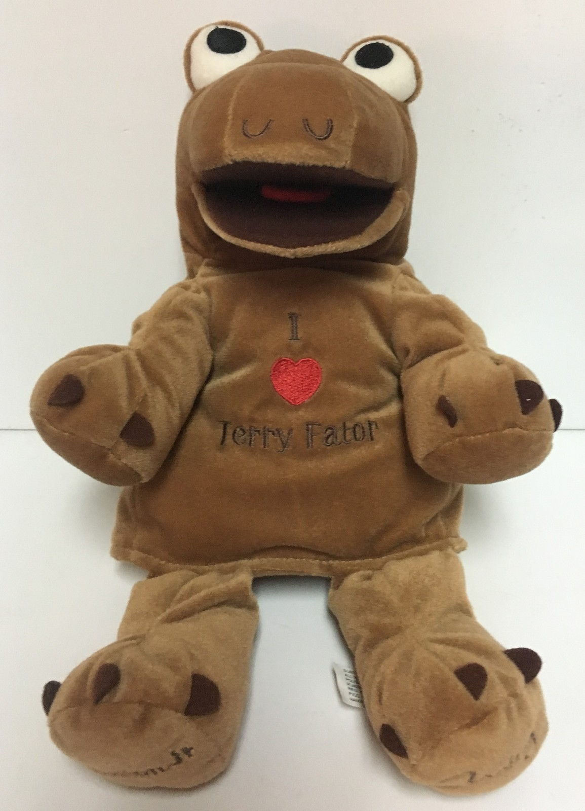 """14"""" Winston Jr. Hand Puppet TERRY FATOR At The Mirage Las Vegas NWT"""