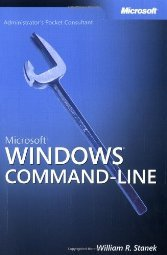 Windows Command Line Administrators Pocket Consultant by Stanek 0735620385