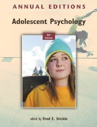 Annual s: Adolescent Psychology, 7 0078050995