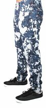 Versace Jeans Blue Bleached Denim White Paint Orange Speckle XXX Pants NWT image 5