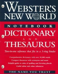 Websters New World Notebook Dictionary by The 0028620569
