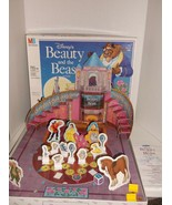 VIntage 1991 Disney Beauty and the Beast Board Game 3D Milton Bradley - $15.84