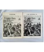 & Porgy et Bess Piano Partition de Musique Vintage 2 le Ain'T Necessaril... - $58.11