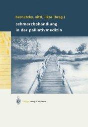 Schmerzbehandlung in der Palliativmedizin  by Bernatzky 321183883X