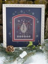 Black Snowman winter holiday cross stitch kit Shepherd's Bush - $30.00