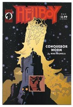 Hellboy Conqueror Worm  Issue #4 NM Mike Mignola Dark Horse Comics 2001 - $8.95