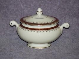 "Vintage Homer Laughlin ""Cardinal"" Eggshell Nautilus Sugar Bowl with lid - $49.95"