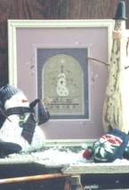 Christian's Snowman winter holiday cross stitch kit Shepherd's Bush - $28.00