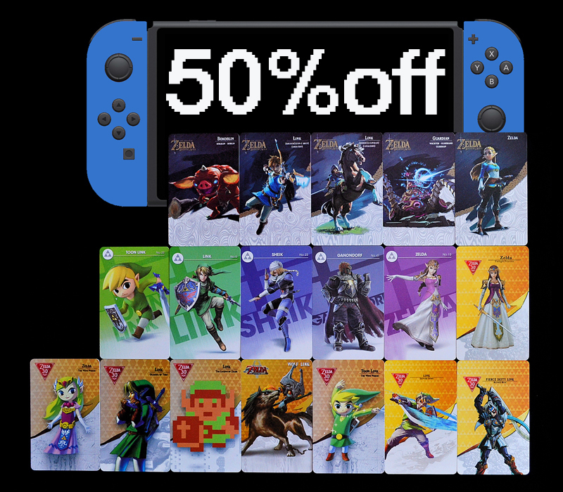 Amiibo Cards for sale | Only 2 left at -60%