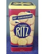 Ritz Cheese Crackers Tin Christies Nabisco 60TH... - $19.85