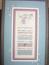 Patriotic Snowman winter holiday cross stitch kit Shepherd's Bush - $30.00