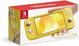 Nintendo Switch Lite Body Yellow color Version with AC adapter - $279.78