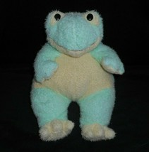 "12"" Ty Baby Soft Green Frog Frogbaby Rattle 1999 Stuffed Animal Plush Toy Pillow - $23.38"