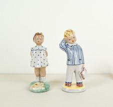 Cute children couple statuette - $31.71