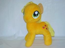 "2012 My Little Pony Hasbro Applejack Apples Plush Toy 12"" - $11.88"