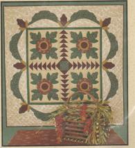 Holiday Bouquet Quilt Pattern Thimbleberries Lynette Jensen 54 Inch Squa... - $6.89