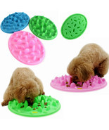 Dog Cat Slow Eating Feeder Anti Choke Pets Bowl... - $13.41