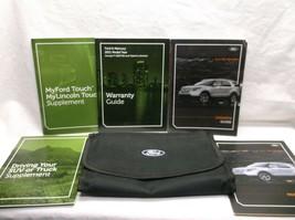 2011...11 Ford Explorer OWNER'S/USER MANUAL/ GUIDE/ BOOK/CASE - $15.99
