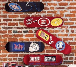 "Pottery Barn ""Skateboard"" Wall Decals - $9.89"