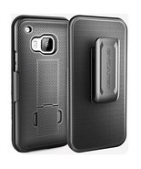 HTC One M9 Belt Case & Clip, Encased [Aero Series] Slim Belt Case & Belt Cli... - $10.73