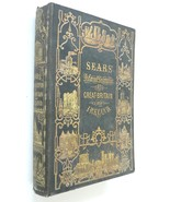 Sears Pictorial Description Great Britain Ireland 1846 book engravings h... - $75.00