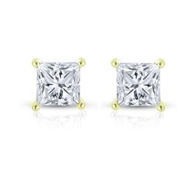 0.25ct 14k Yellow Gold TDW Diamond Stud Earrings - $266.26