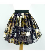 Edgar allen poe inspired pleated skirt thumbtall