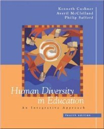 Human Diversity in Education by Cushner 0072486694
