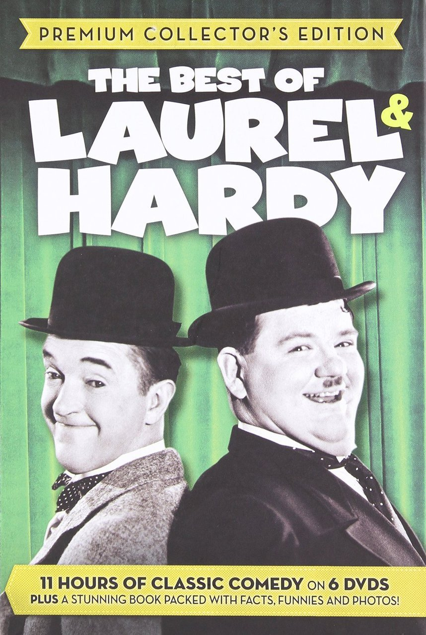 The best of laurel   hardy   premium collector s edition   6 dvds plus book