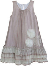 Isobella & Chloe - Big Girls NICOLETTE_A-Line Sleeveless Dress