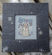 Snow For All winter holiday cross stitch kit Shepherd's Bush - $12.00