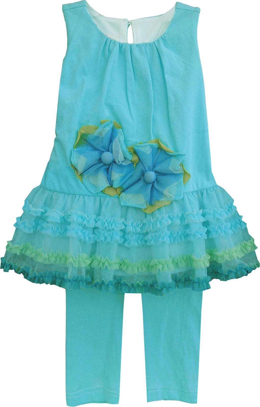 Isobella & Chloe - Little Girls NASHVILLE_Two Piece Pant Set