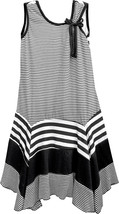 Isobella & Chloe - Big Girls ZEBRA_ A-Line Sleeveless Dress