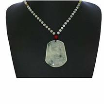 "2.2""China Certified Grade A Nature Hisui Jadeite Jade Auspicious Eagle N... - $65.54"