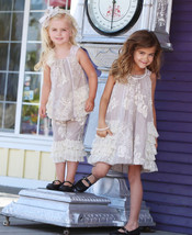 Isobella & Chloe - Baby Girl CRÈME BRULEE Two Piece Pant Set image 4