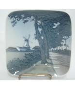 "Royal Copenhagen Windmill Pin Tray 4"" Small Dish #3373 Vintage 1960 Dybb... - $13.85"