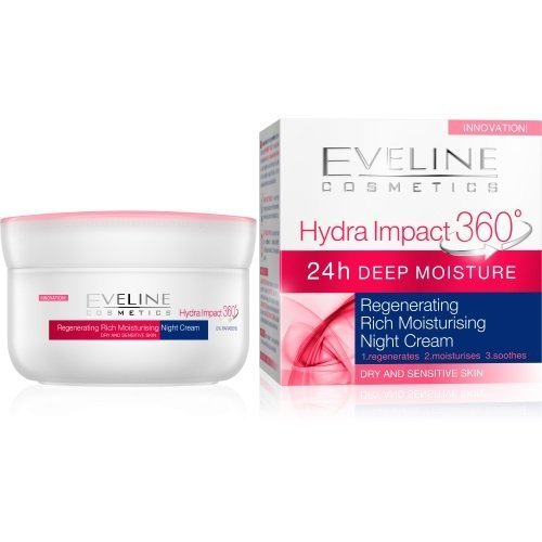 Eveline Cosmetics Hydra Impact 360 Regenerating Rich Moisturizing Night Cream
