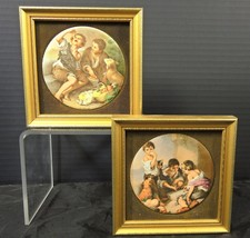 Two Staffordshire Wall Art Plaques - Morillo Series - $66.49