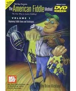 American Fiddle Method Vol 1/Brian Wicklund/DVD  - $16.95