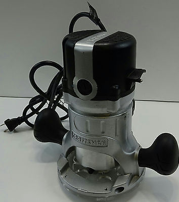 Craftsman 9.5 AMP 1-3/4 HP Fixed Base Router