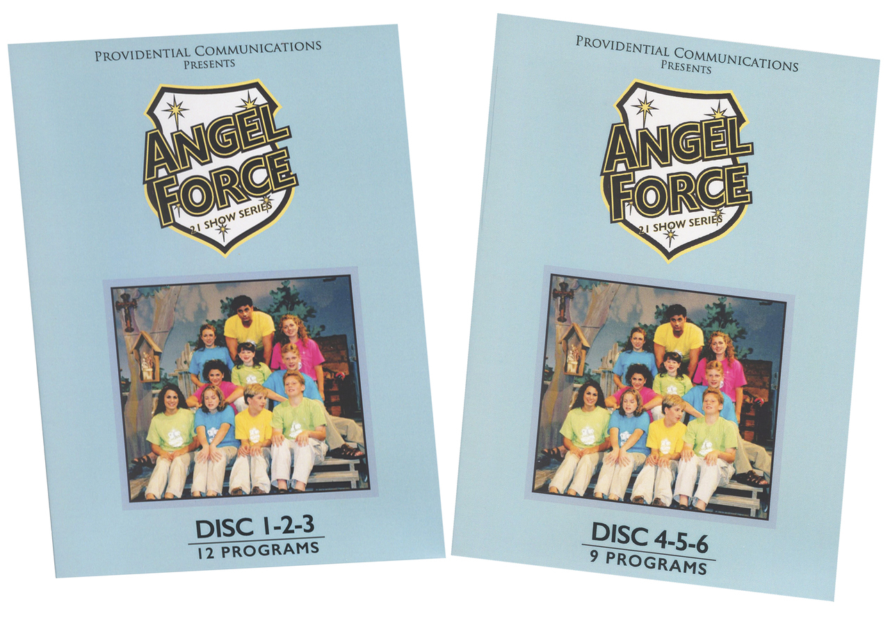 Angel force  21 show series   6 dvd disc by mary anne lahood