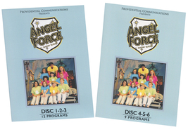 ANGEL FORCE- 21 SHOW SERIES - 6 DVD DISC by Mary Anne LaHood