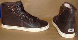UGG Australia BLANEY CRYSTALS Choc Lace Up Sneakers Size US 7 OR 7.5 NIB... - $89.95