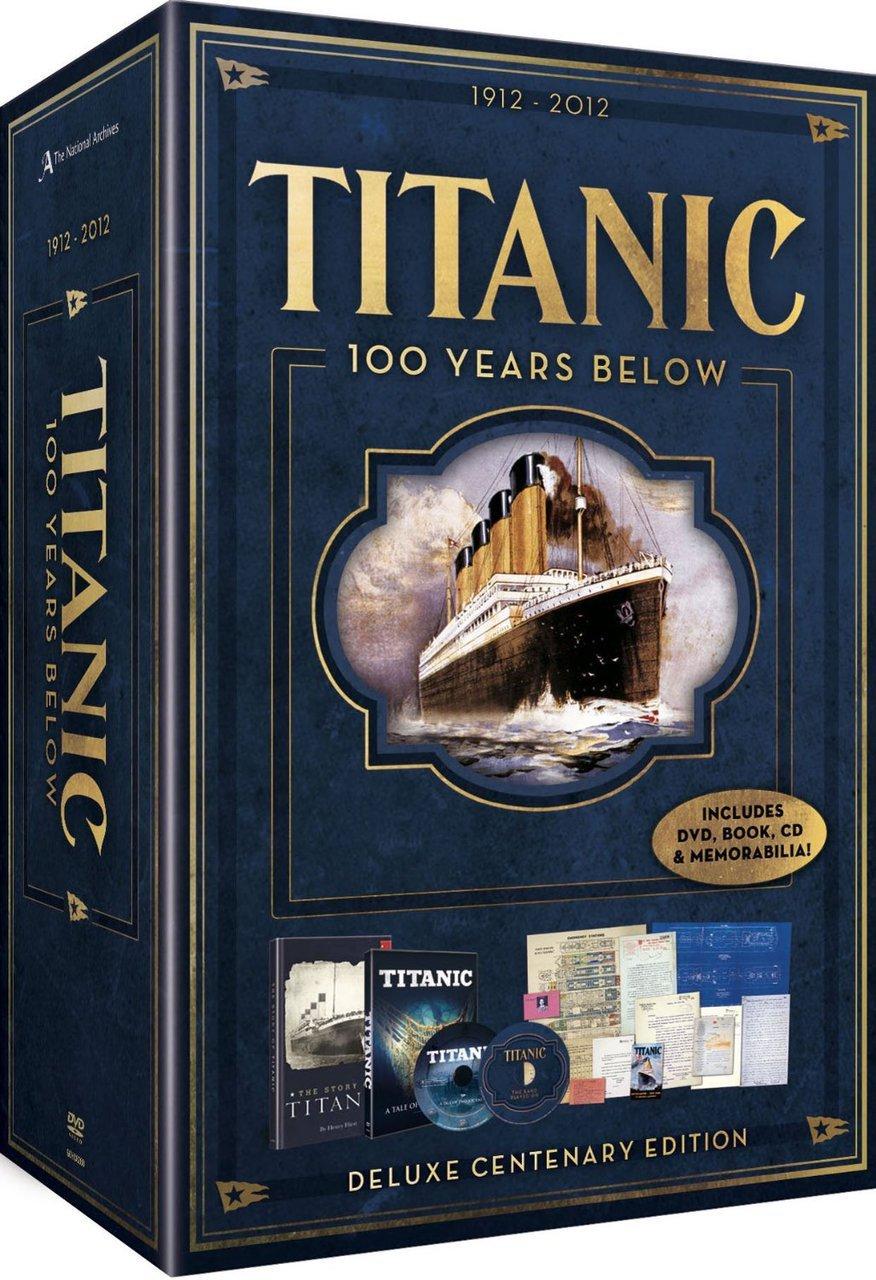 Titanic   100 years below