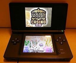 Nintendo DS Lite Red Crimson/Black Handheld Video Game Console - $51.43