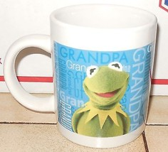 Kermit the Frog Coffee Mug Cup Muppets Jim Henson Ceramic - $9.50