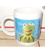 Kermit the Frog Coffee Mug Cup Muppets Jim Henson Ceramic - $9.50